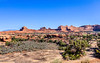 Looking towards Wooden Show Arch, Canyonlands National Park, The Needles section