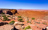 From Orange Cliffs Overlook, Canyonlands National Park, Island In The Sky section