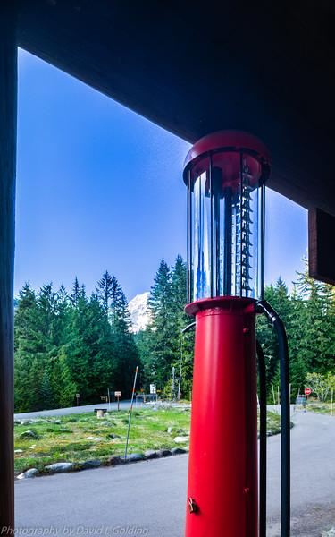 Mt Rainier from National Park Inn, Mt Rainier National Park