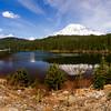 View of Mt Rainier from Reflection Lake, Mt Rainier National Park
