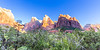 Zion National Park, Zion Canyon, Court of the Patriarchs