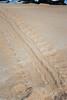 Turtle tracks on Keanakeiki Beach