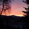 Solnedgang frå songvesåsen..27.02.2013
