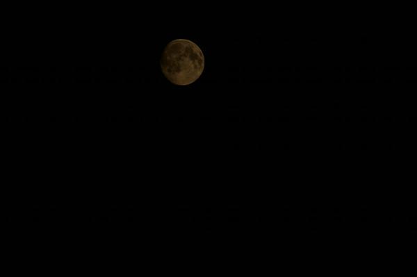 Nattbilde av månen