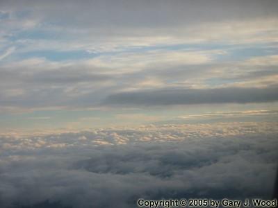 Clouds over Roatan -- Honduras