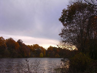 Sunset at Lake Elkhorn 10-31-04