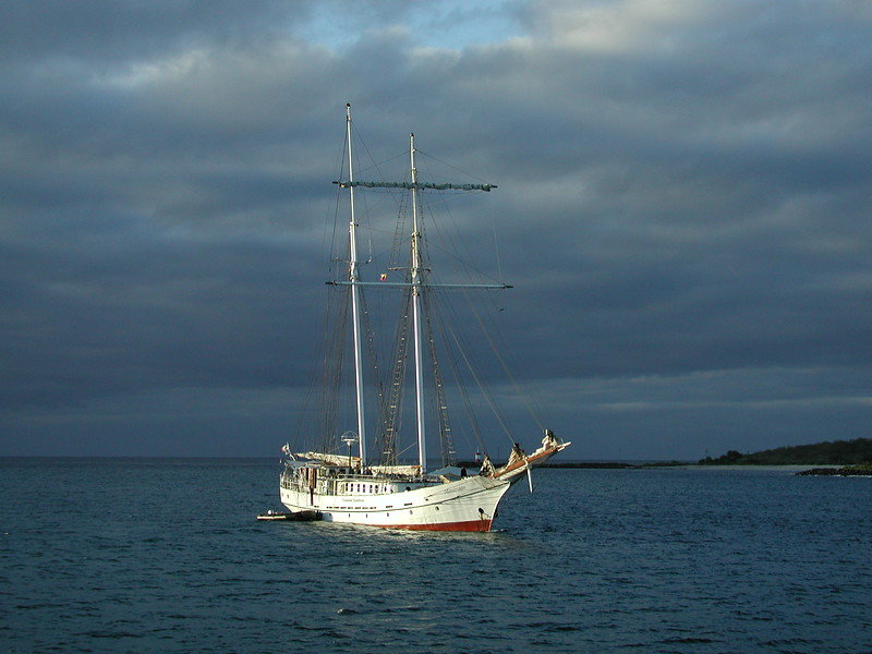 Two Masted Schooner