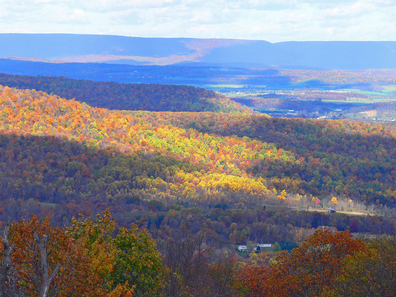 View from Waggoner's Gap