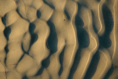 Dried mud in La Quinta, CA.  I made sure to be there exactly at sunrise to capture the long shadows and maximal texture.