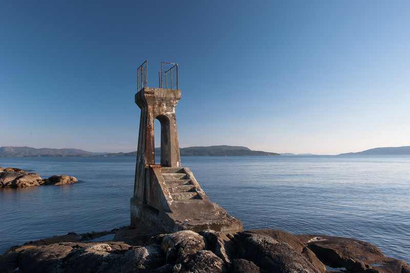 A old diving tower