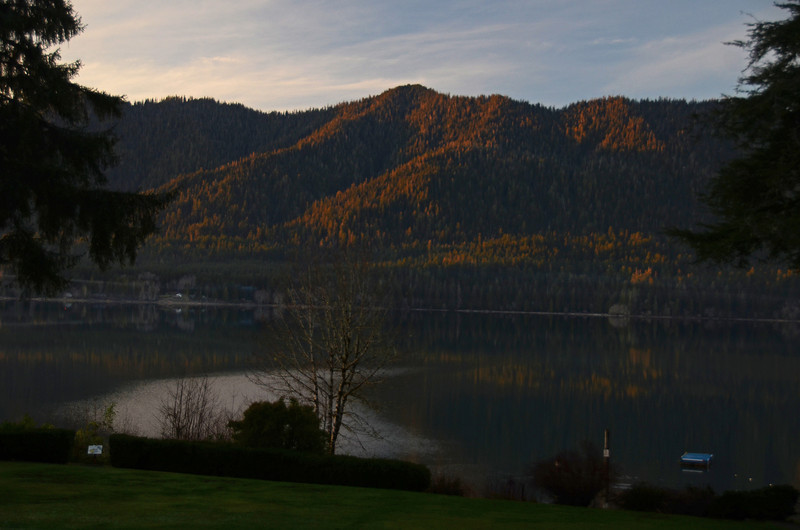 Lake Quinault @ sunset