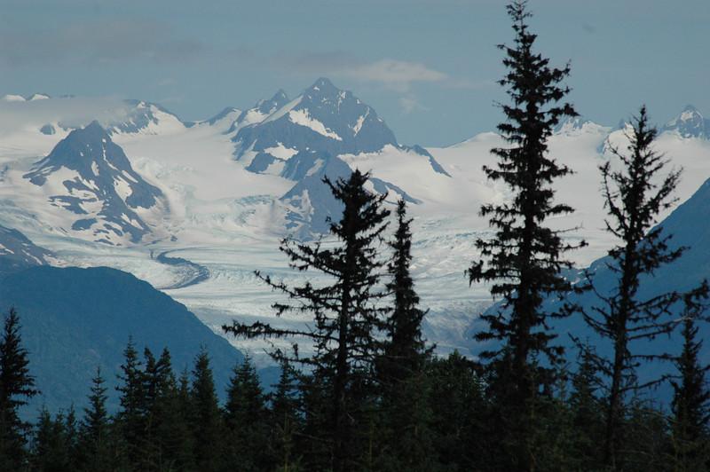 Glacier above Homer, Alaska