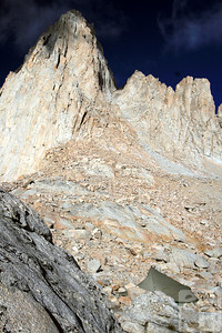 Mt Whitney and Cliff's tent