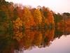 Lake Nockamixon in Periwinkle Dusk, Autumn