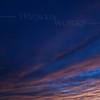 November Sunset streaks over Quakertown