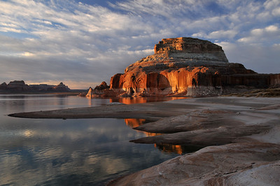 Sunrise at Lake Powell, Utah