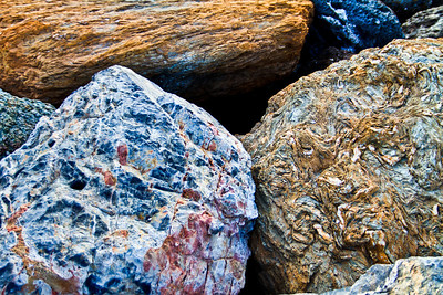 Different types and colors of rocks along the Ligurian sea. Beautiful, diverse, rugged, timeless - in many ways this sums up my feelings towards the Italian people, their land and the wines they grow.