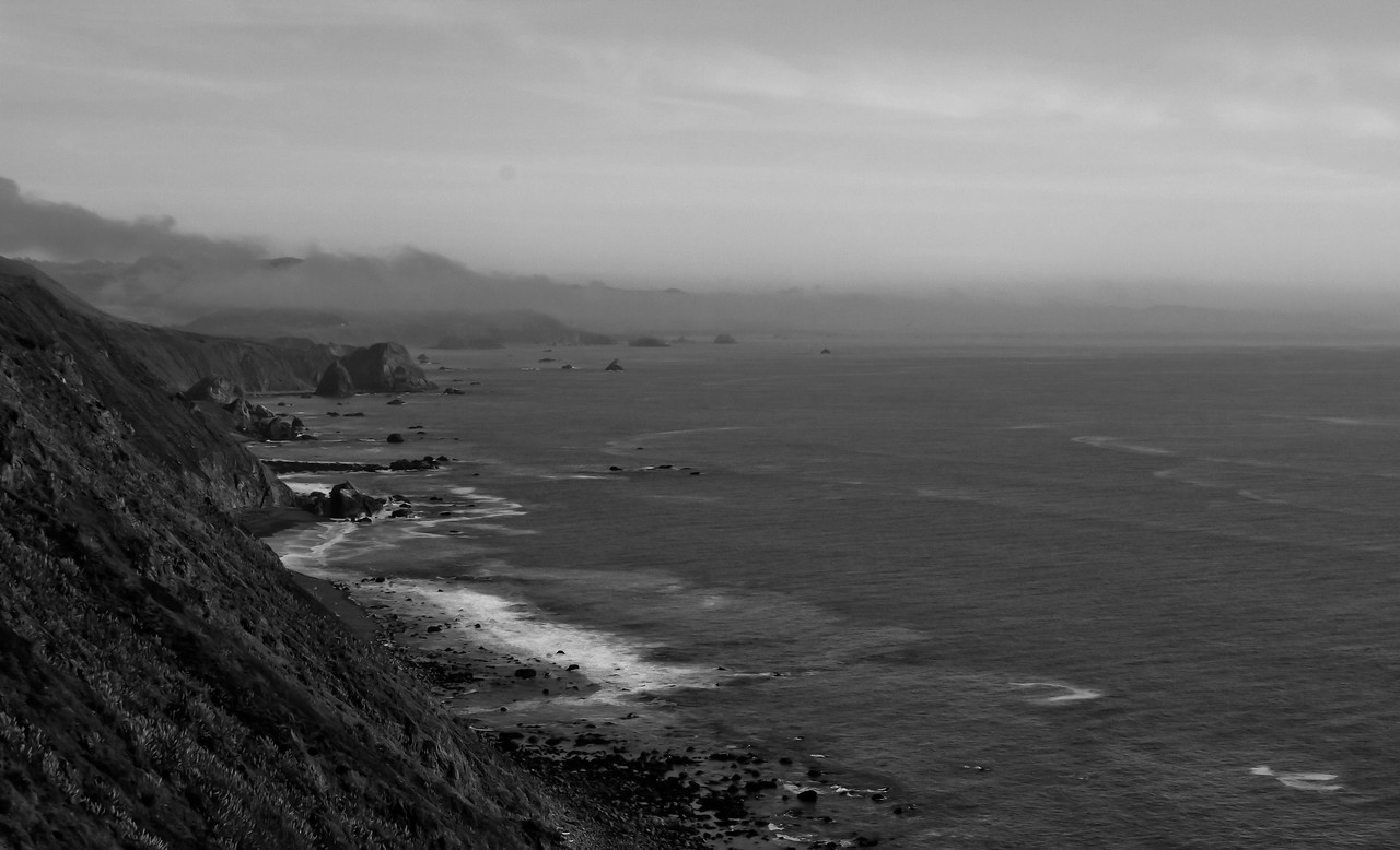 Sonoma Coast near Fort Ross, October 2011. Best viewed on size X3 (XL on laptop screen), hit your f11 key