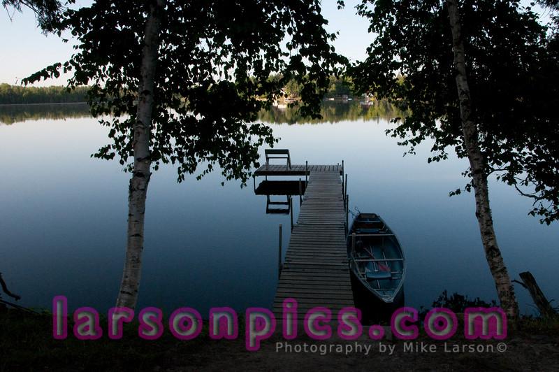 Canoe and Dock