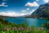 St. Mary's Lake in Glacier National Park, Montana