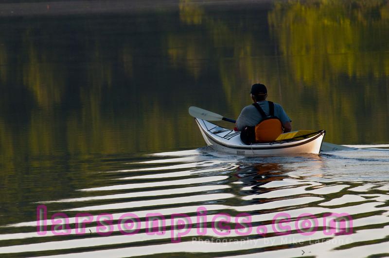Early Morning Kayak Ride