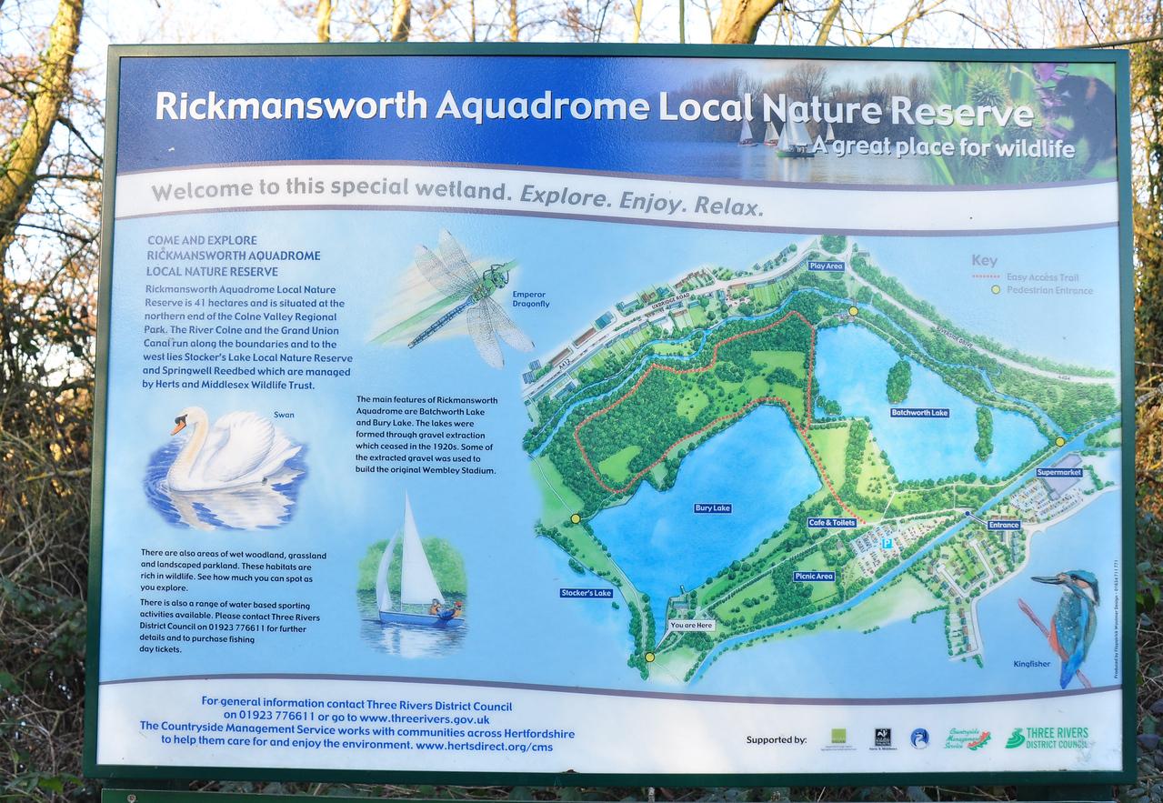 Rickmansworth Aquadrome