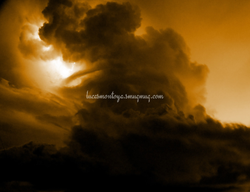 Lightning Storm Over Colorado Springs, Colorado - 7 August 2016