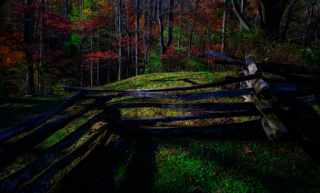 John Oliver's Place, Cades Cove in Fall