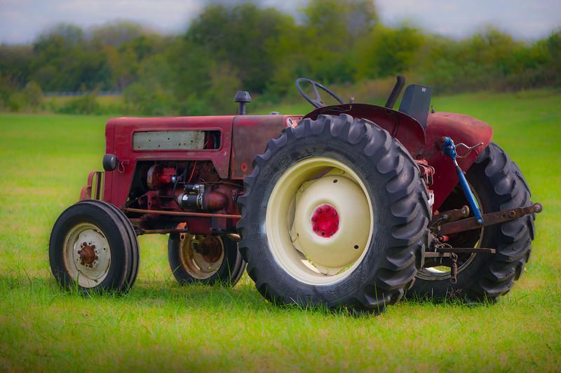 Tractor near Etheridge Tennessee