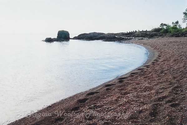 Pebble Beach, Lake Superior, Gooseberry State Park.