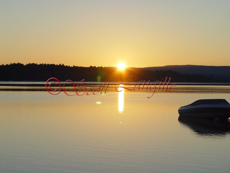 New Hampshire. Lake Winnipesaukee.