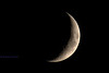 9-9-13, waxing crescent at 13.3% observable.