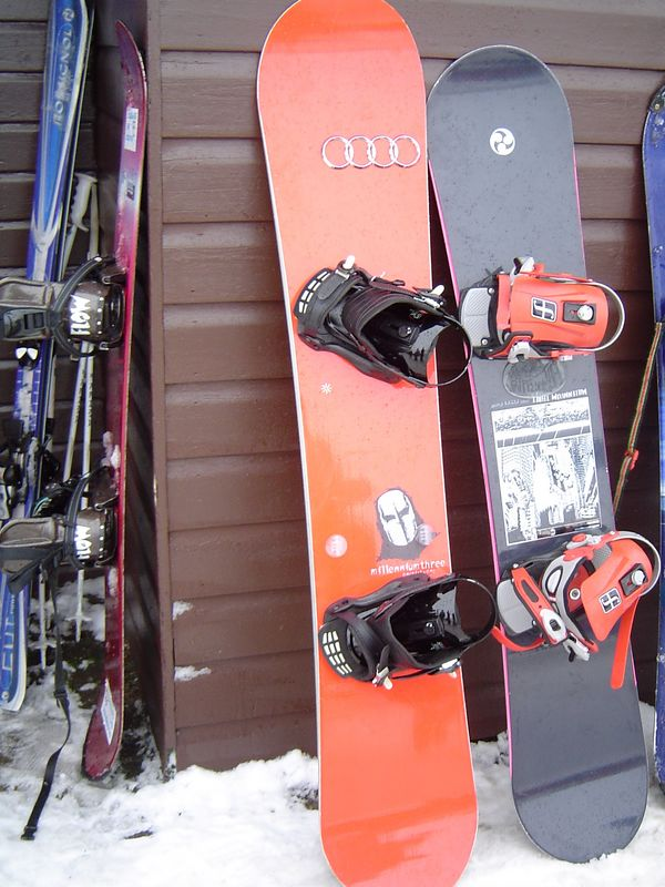 The Audi Slipknot Snowboard