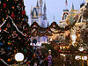Main Street, WDW, Florida, Dec 2005 at dusk. DImage Z3 Minolta Konica camera.