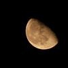 Orange moon!
