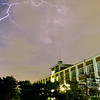 Lightning over Doshisha University!