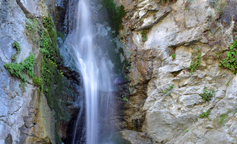 Eaton Canyon Waterfall<br /> 2 second exposure<br /> 5/19/2013
