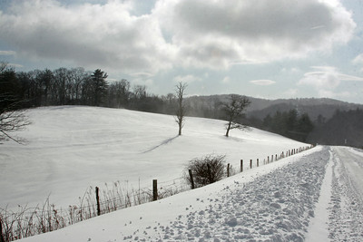 BR Parkway winter