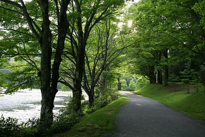 bass lake path