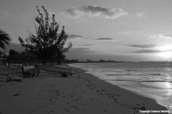 Sunrise in the Bahamas