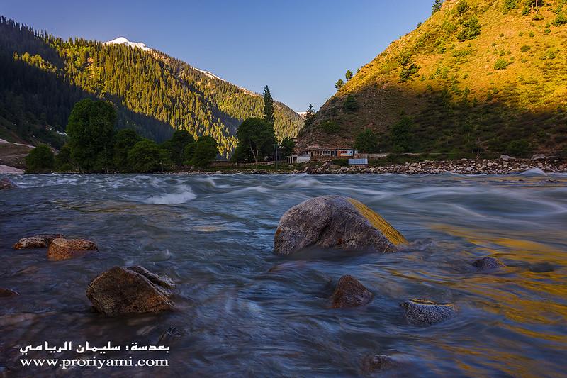 """Kunhar river, Naran """"Pakistan""""."""