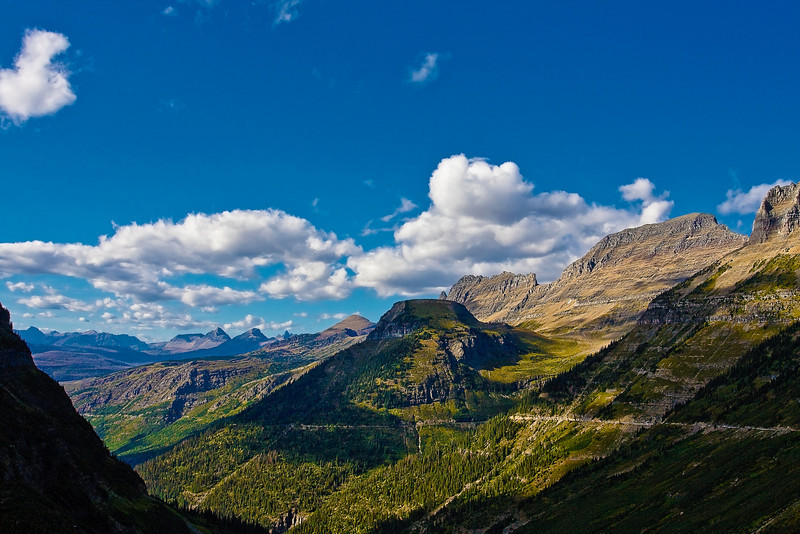 """Clear Day"" Glacier National Park. Kalispell, Montana."