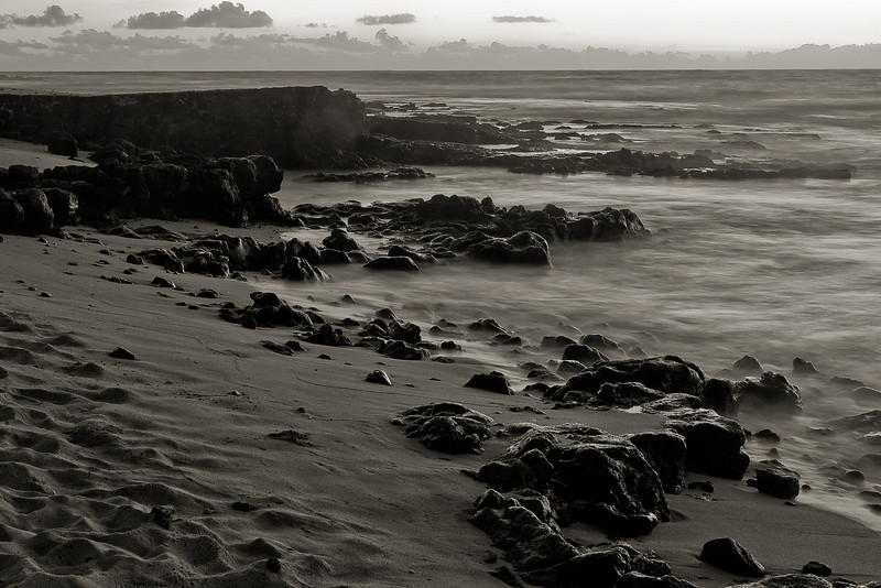 """Morning Beach - Mono"" Oahu, Hawaii, USA"