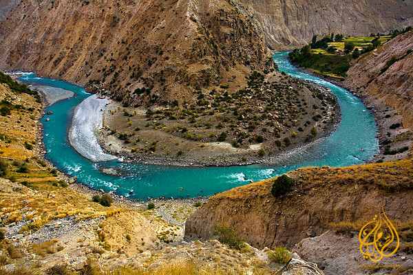 "Astore river ""Pakistan"""