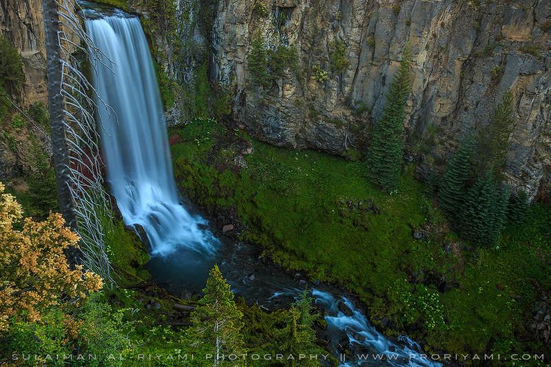 """Tumalo falls, Oregon """" USA """""""