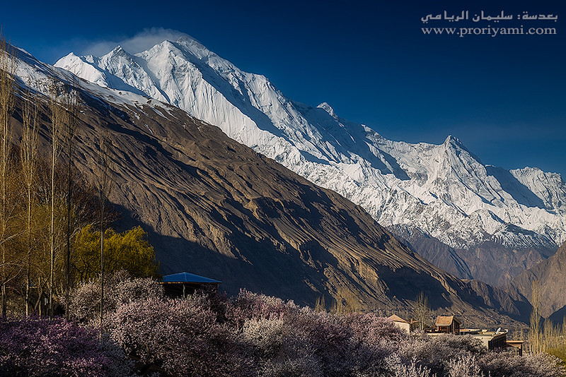 Hunza valley from Karimabad, Pakistan