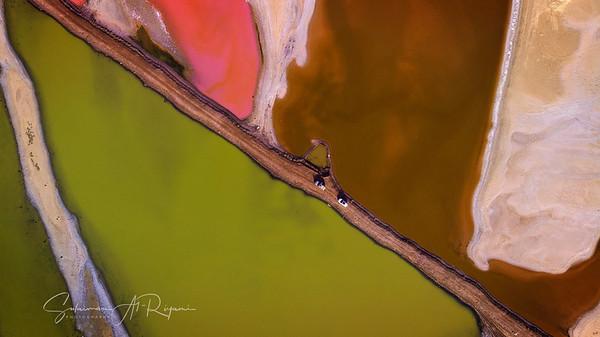 Colourfull lakes