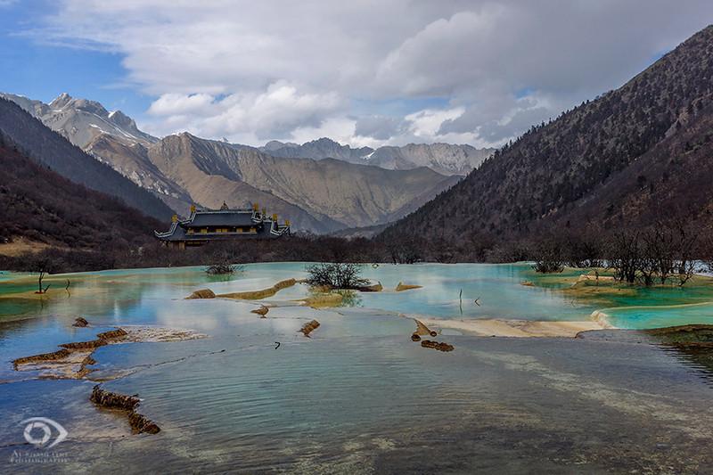 Huanglong National Reserve, Sichuan, China