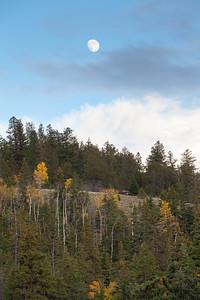 Moon Over Colorado