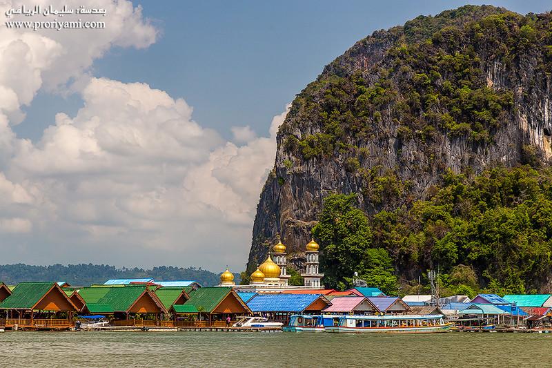 Phanga bay, South Thailand.
